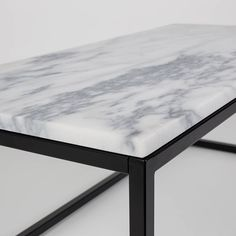 Image Result For Steel Frame Marble Table