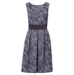 Isadora Jacquard A Line Dress