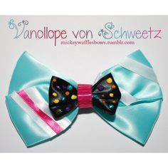 A colorful medium (4 inches) sized hair bow inspired by the adorable Vanellope von Schweetz from Disney's Wreck-it-Ralph. This bow comes to life with sweet spr…