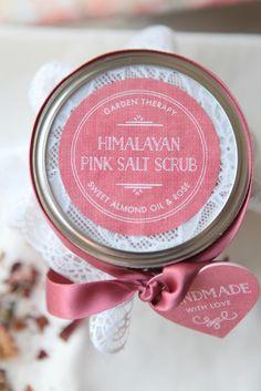 Healing Himalayan Pink Salt Scrub