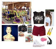 Six Flags with the boys and Mahogany (DATE: Matthew Espinosa) by e3-keatons-jaiden on Polyvore featuring Forever 21, Converse, Hipanema, BlissfulCASE, NYX and Eos