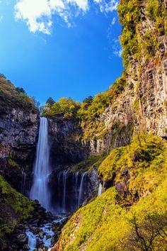 Kegon Waterfall at Lake Chuzenji in Nikko National Park, Tochigi , Japan