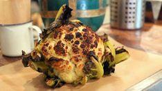 Eyal Shani's legendary roast cauliflower at a branch of Miznon.