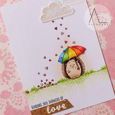 Gerda Steiner Designs Page 19 - Gerda Steiner Designs, LLC Diy Birthday Gifts For Dad, Creative Birthday Cards, Handmade Birthday Cards, Greeting Cards Handmade, Scrapbook Cards, Scrapbooking, Umbrella Cards, Animal Cards, Copics