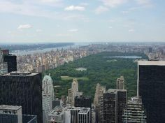 New York, NY: View from  Top of the Rock with Central Park