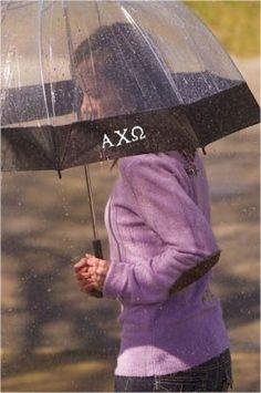 Zoubaby - Monogrammed Sorority Umbrellas- So Cute! #greekgifts #sorority #accessories