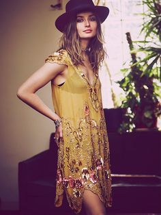 Free People Magic Garden Party Dress,