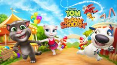Talking Tom Bubble Shooter game gets a new character Hank for Windows Phone and Desktop