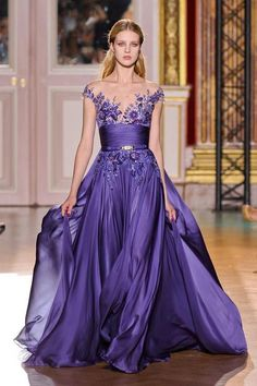 Zuhair Murad Couture FW 2012/13. repinned by In Fashion onto 2013 Fashion du Jour