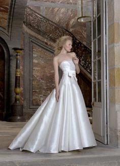 vestido de noiva em mikado com cinto de Fontainebleau de cymbeline 2016