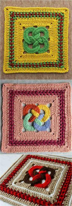 Crochet Waldo's Puzzle The afghan Blokc