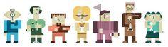 En las  startup  no basta un tipo ingenioso en un garaje  estos son los siete perfiles profesionales imprescindibles Personal Branding, Game Design, Identity, Character Design, Characters, Holiday Decor, Garage, Figurines, Personal Identity