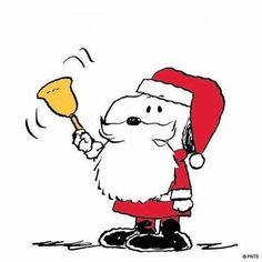 Although this is Snoopy as Santa Claus, today is St. Nicholas Day.