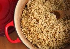 What was that recipe again?: Brown Rice Pilaf