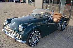 Triumph TR3 1959, my first car, red