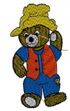 Farmer Teddy Design free teddy embroidery library embroidery designs