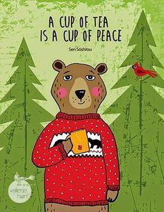 Una taza de té es una taza de paz