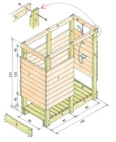 Outdoor Shower Plans - Cedar Outdor Shower Floor with Beach Pebbles Outdoor Shower Kits, Outdoor Shower Enclosure, Outdoor Showers, Outdoor Bathrooms, Rustic Bathrooms, Outside Toilet, Industrial Bathroom Design, Small Swimming Pools, Garden Shower