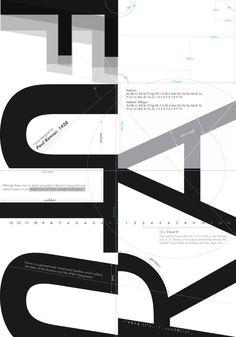 Type Poster: Futura - SCOTT LIAO DESIGN