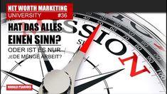 NWM & DIRECT SELLING NEWS #36 - WAS IST DER SINN HINTER ALLEM? Direct Selling, Direct Sales, Marketing, Tv, News, Tvs, Television Set
