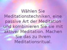 Täglich meditieren macht glücklich und erfolgreich | Vision & Ziele Real Life, Consciousness, Goal, Thoughts