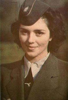 Female Luftwaffe (air force) helper                                                                                                                                                                                 More