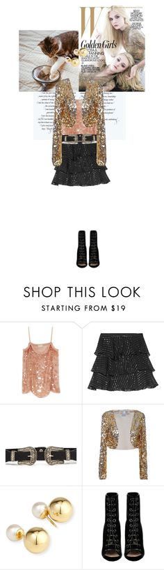 """""""Untitled #1287"""" by the2ndchild ❤ liked on Polyvore featuring Lanvin, Pierre Balmain, Yoko London and Barbara Bui"""