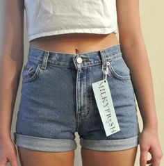 heetheadz.com high waisted jeans shorts (07) #highwaistedshorts