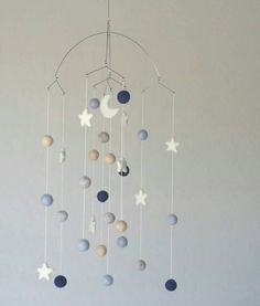 Baby Mobile : Shimmering Moon Baby Mobile