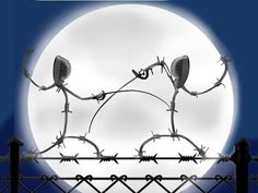 Halloween fencing