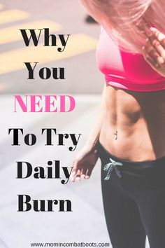 8faabd5fa9873 Daily burn is a paid subscription workout website that provides you with  quality workouts that you