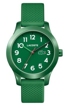 LACOSTE LACOSTE 12.12 SILICONE STRAP WATCH, 32MM. #lacoste #