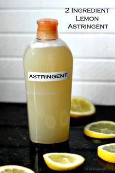 How to Make Homemade Citrus Astringent