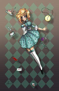 Falling+into+Wonderland+by+NoFlutter.deviantart.com+on+@DeviantArt