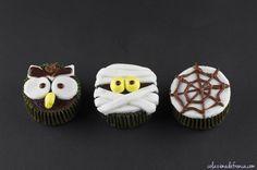 """Cupcakes di Halloween - Nome d'arte: """"Boooooo!!""""  Ritrova la ricetta qui: http://www.colazionedafrenca.com/ricette/cupcakes-di-halloween/"""