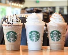 #Starbucks is offering 3 winning #Frappuccino Fan Flavors 16 oz. (grande size) for $3 on 7/03-7/06 from 2-5pm! See Details: www.shop2fund.com  #cooldown #afternoonsnack #starbuckshappyhour