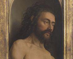 Jan and Hubert VAN EYCK L'Agneau Mystique (The Ghent Altarpiece), Adam & Eve 1432