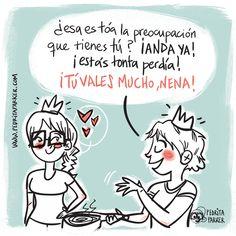 Reina Madre #pedritaparker #viñeta