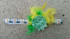Yellow & Green Disney Tinkerbell Toddler Headband, Fits age 2-6 Years Old in Clothing, Shoes & Accessories, Baby & Toddler Clothing, Girls' Clothing (Newborn-5T) | eBay