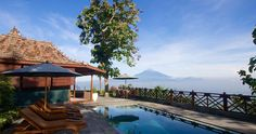A little bit closer to heaven at wonderful Villa Kayangan. This and other accommodations in Borobudur at www.bedforest.com #indonesia #bali #borobudur #instagram #instapic #nofilter #sun #mountains #pool #picoftheday #photooftheday #ilovebali #explorebali #balibible #balidaily #thebaliguru #thebaliguideline #explorebali #travel #sunset #love #island #discover #view by bedforest