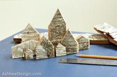 Ashbee Design: Birch Bark Houses • DIY