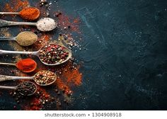 Black Plate On Black Stone Background Stock Photo (Edit Now) 1729030255 Sea Salt, Room Inspiration, Photo Editing, Stuffed Peppers, Plates, Stock Photos, Stone, Color, Black