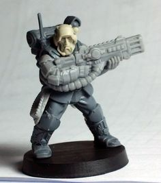 Max Mini head, Anvil Industry weapon and arms, GW for the rest.