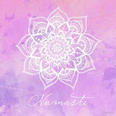 «Namaste - Amethyst» de CarlyMarie