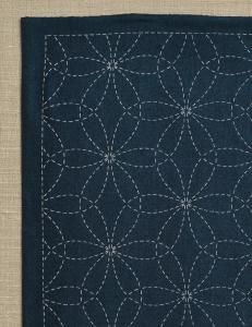 purl soho | products | item | navy sashiko samplers (olympus)