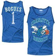 Majestic Threads Muggsy Bogues Green Charlotte Hornets Hardwood Classics Name & Number Tank Top