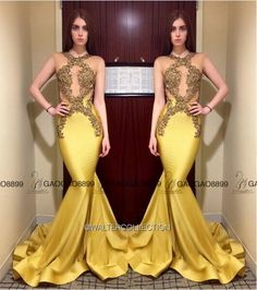 Walter Collection 2016 Gold Shiny Embroidery Sheer Neck Evening Formal Dresses Custom Make Full Length Mermaid Party Prom Gown Evening Dress Hire Evening Dress Sale From Gaogao8899, $122.22| Dhgate.Com