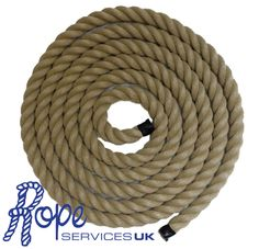 Rope - Synthetic Hemp, Polyhemp, Hempex For Decking, Garden & Boating (6mm-36mm)