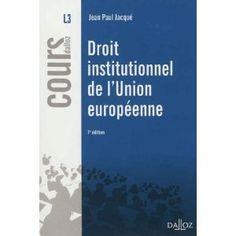 Synthèse sur la charte constitutionnelle de l'Union européenne : ses principes fondateurs, ses institutions et ses organes, ses compétences, son ordre juridique et son processus décisionnel, etc.  Cote: 3-11 JAC