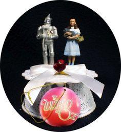 Tin Man/Dorothy Cake Topper